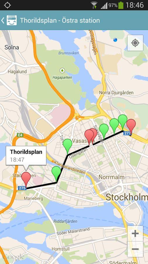 Stockholm Transit (SL) - screenshot