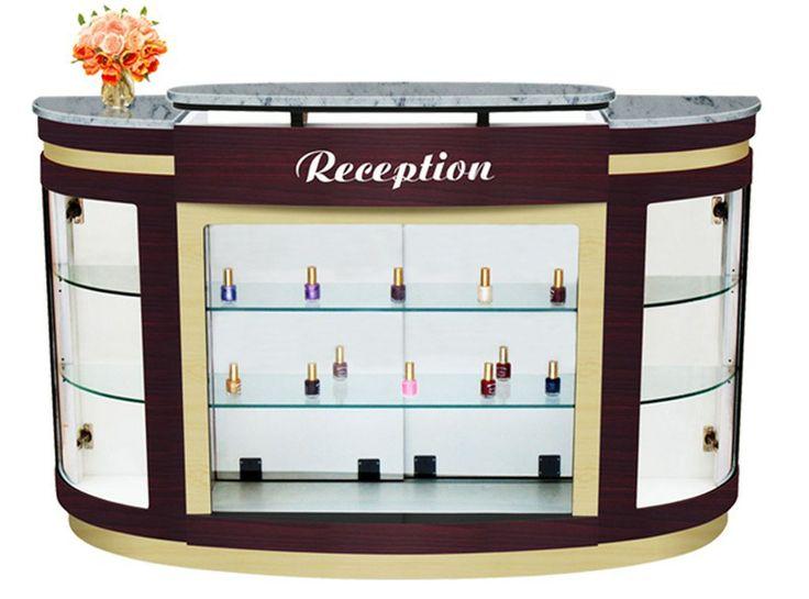 Uw Ny Advance Reception Desk Is Clic Design Counter With Plenty Of Storage E Comes Marble Top
