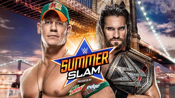John Cena vs. Seth Rollins (WWE SummerSlam 2015) WARNING, THERE WILL BE RANTING, and cussing!............................John Stewart, you despicable dumb-ass! How dare he get involved like that. JOHN CENA had it under controlled, and why did he stick his nosey fat ass nose where it DID NOT belong??? because he FELT it was the right thing to do. Because he THOUGHT he needed to defend Ric Flair's record. Now, he has caused the authority to hold both the united states championship, and the wwe…