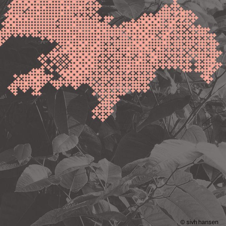 "© Sivh Hansen: ""Pink.Foliage I"" (2016), digital print"