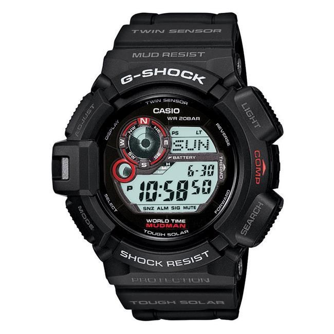 Casio Tactical G-Shock Mudman Watch G9300-1 (G9300-1)