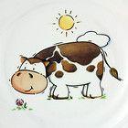 Kinder Geschirr Set Kuh Teller Tasse Triptis Porzellan Müsli Eierbecher Tier NEU