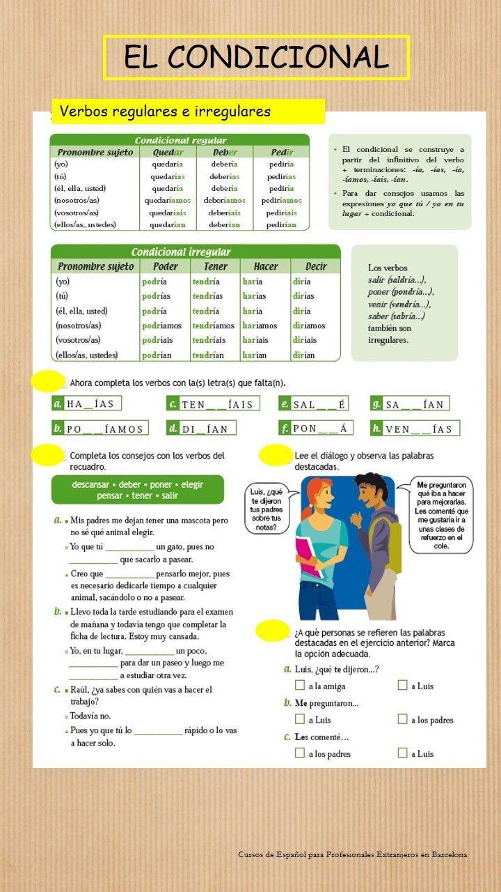 138 best verbos images on pinterest