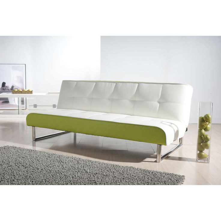 Not Your Typical Futon This 74 8 Inch Long Modern Sofa Bed Is