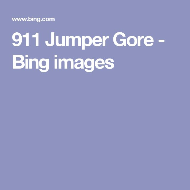911 Jumper Gore - Bing images