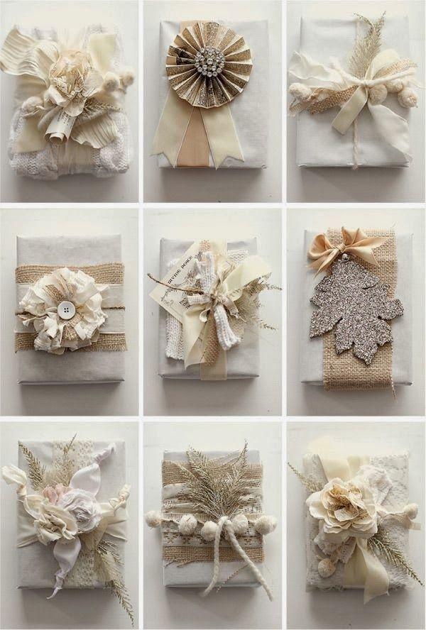 White Christmas Wrap