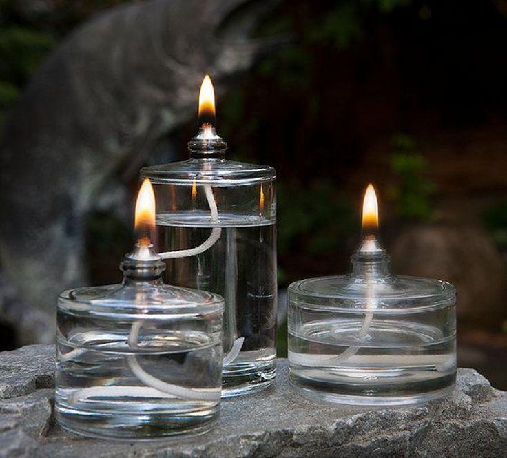 Лампа от старо шише за парфюм