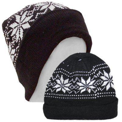Wintermuts zwart wit one size
