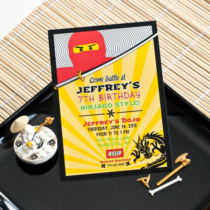 The 32 Best Wedding Party Favors For Every Budget Of 2020: 85 Best Ninjago Party Images On Pinterest