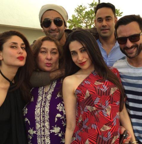 Ranbir, Karisma, Kareena, Saif have a family Christmas evening | PINKVILLA