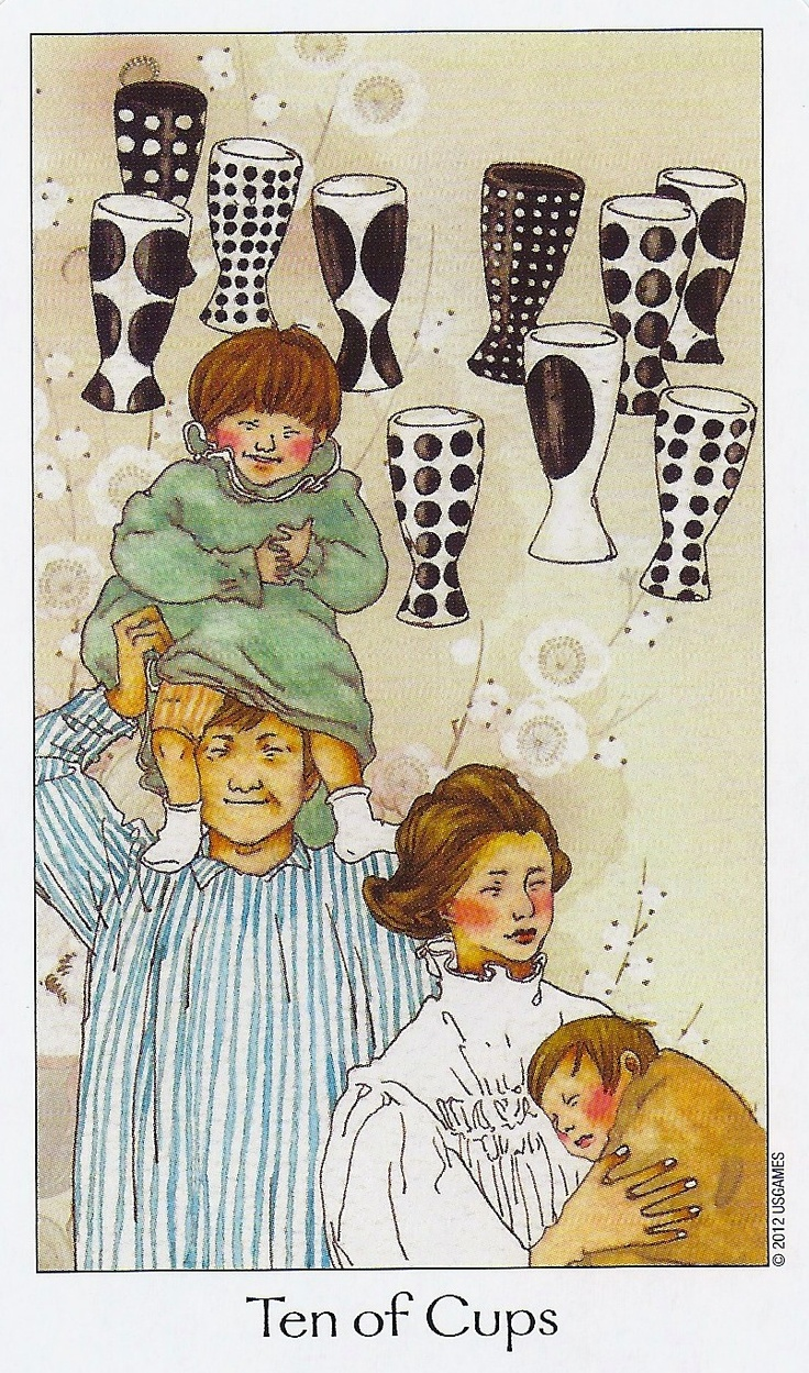 Ten Of Cups - Dreaming Way Tarot