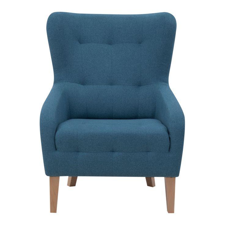 FOTEL JULIET Duży, wygodny fotel z miękkim siedziskiem i obszernym oparciem, zapewni niezrównany komfort użytkowania. Będzie tworzył atmosferę luksusu i zachwyci twoich gości. Ciekawe krągłe kształty oraz pikowania na oparciu, dodają fotelowi wyrazistości. Wysokie profilowane oparcie z charakterystycznymi uszami stwarza komfort dla pleców, karku i głowy. Siedzisko wypełnione jest sprężynami oraz pianką wysokoelastyczną co zwiększa wygodę siedzenia. Nogi wykonano z naturalnego drewna o…