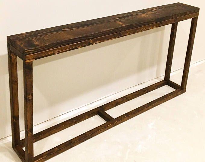 Longue Console Table Etroite Table Console Table D Entree De