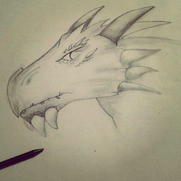 Spiked Dragon #dragon #art #sketch
