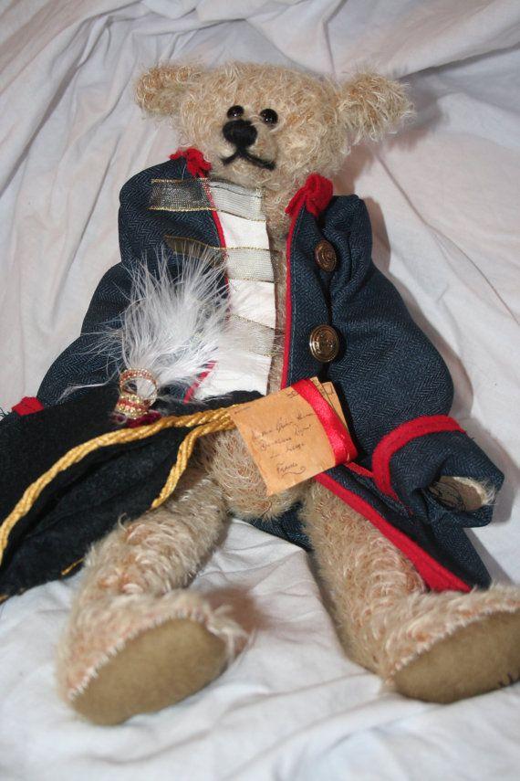 Mohair bear Handmade Bear OOAK bear Artist Bear by IRISHTREASURE