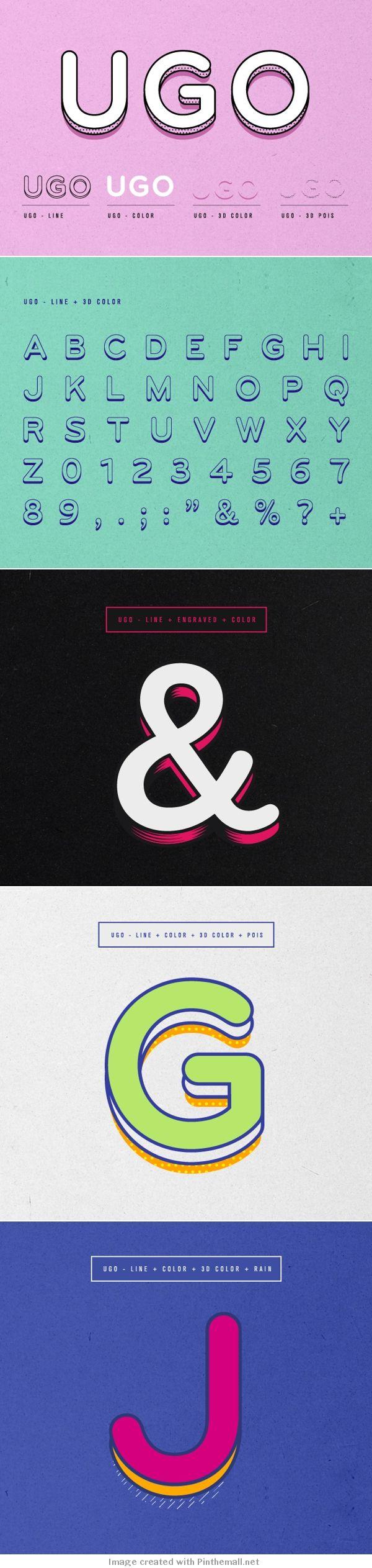 UGO free font - Download & Enjoy               #type #typography #free