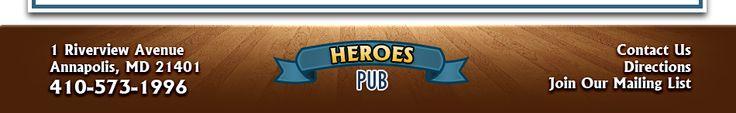 Heroes - best draft beer selection