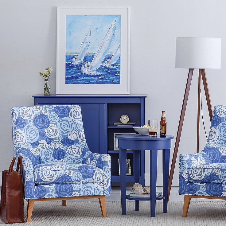 Coastal Furniture and Artwork | Maine Cottage