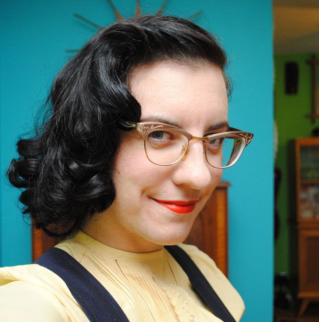 How I do a late 30s/early 40s sponge roller set (and avoid dents!)   by gum, by golly!