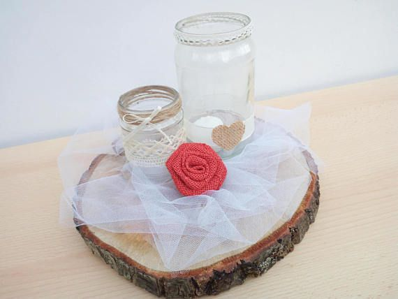 10 basamento della torta centrotavola fetta di legno