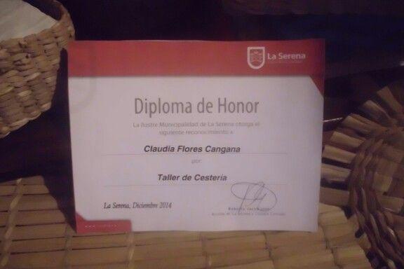 Certificacion taller cesteria