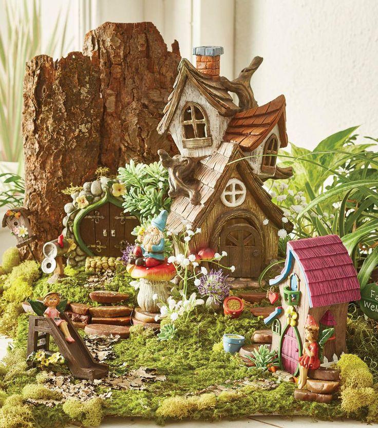 Naturalist Fairy Garden 2 Fae Pinterest Gardens Fairies And Joann Fabrics