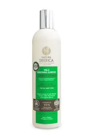 Kondicionér Divá Sibírska Borievka - Dokonalý objem a lesk pre všetky typy vlasov - Prírodná kozmetika a BIO kozmetika