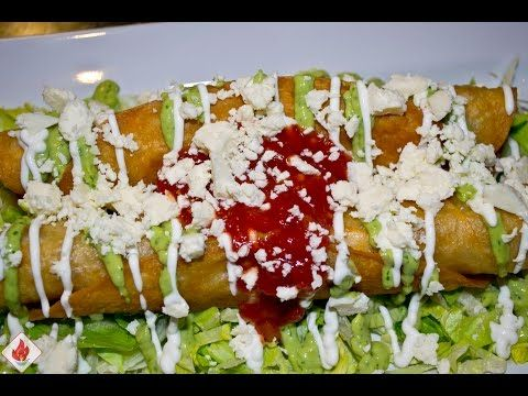 In this episode, Paula shows us how to make Flautas Mexicanas - or chicken…