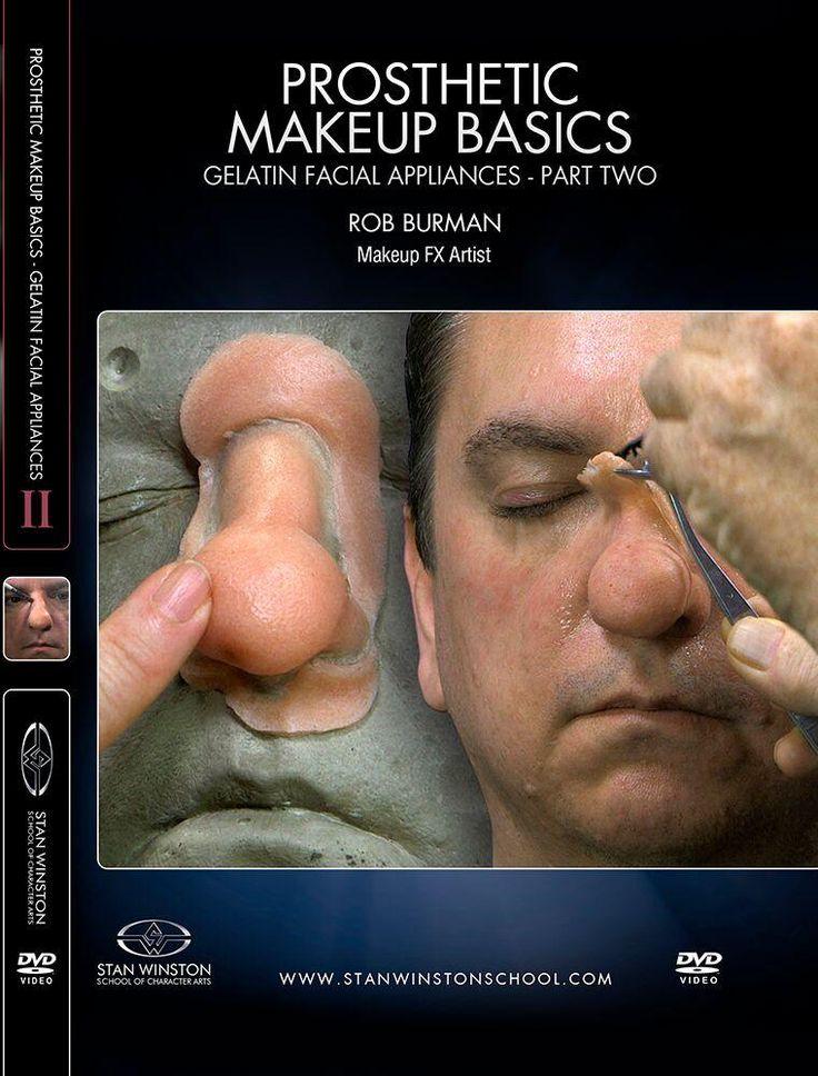 Prosthetic Makeup Basics - Gelatin Facial Appliances