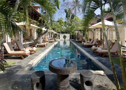 The lap pool at Nusa Dua Beach Hotel & Spa, Bali