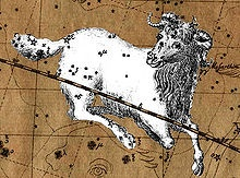 """Aries (♈) /ˈɛəriːz/ (meaning """"ram"""") is the first astrological sign in the Zodiac, which spans the zodiac between the zero degree and the 29th degree of celestial longitude. According to the Tropical system of astrology, the Sun enters the sign of Aries when it reaches the northern vernal equinox, which falls on March 21 each year, and remains in this sign until around April 20. In Sidereal astrology, the sun currently transits the constellation of Aries from April 15 to May 15…"""