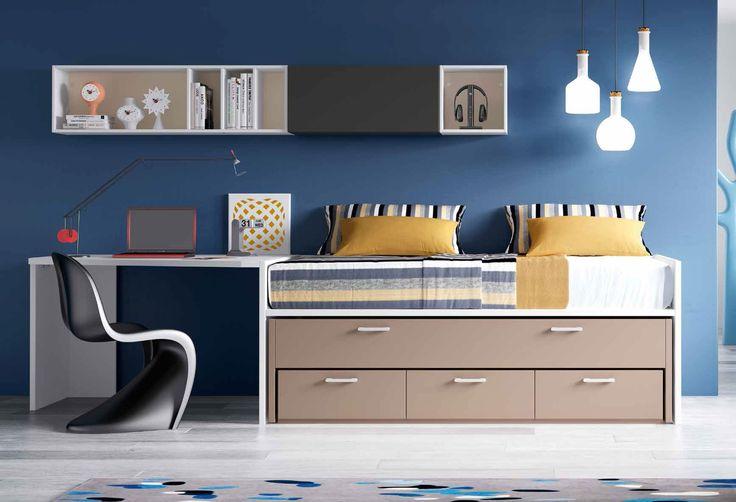 Mejores 99 im genes de habitaciones juveniles muebles y - Muebles habitacion juvenil ...