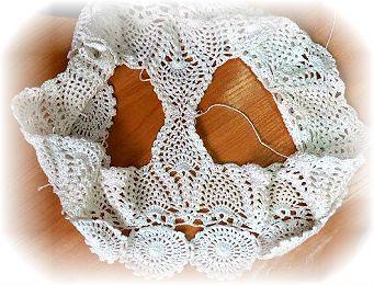 como tejer entrepierna de short crochet