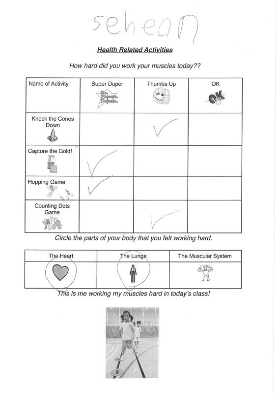 Example Of Health Related Fitness Activities