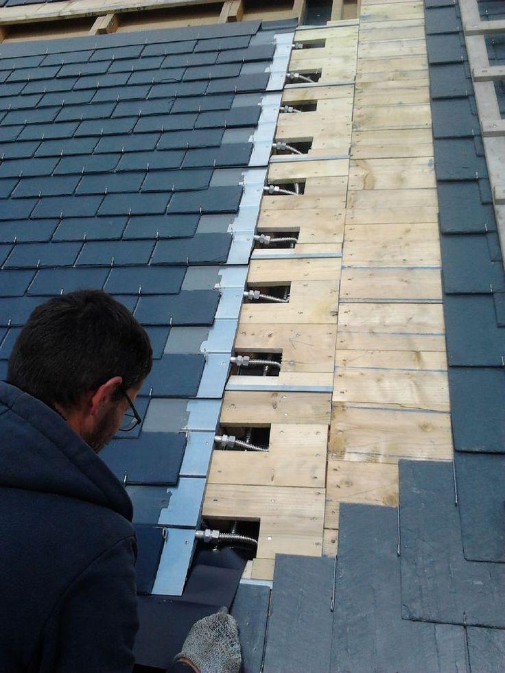 17 best id es propos de toiture ardoise sur pinterest for Energie d une maison