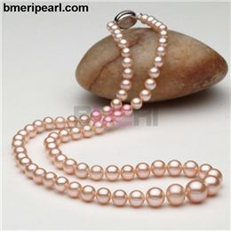 Large Double Pearl Necklace For Wedding The Price Of Drop Earrings Depends On Color