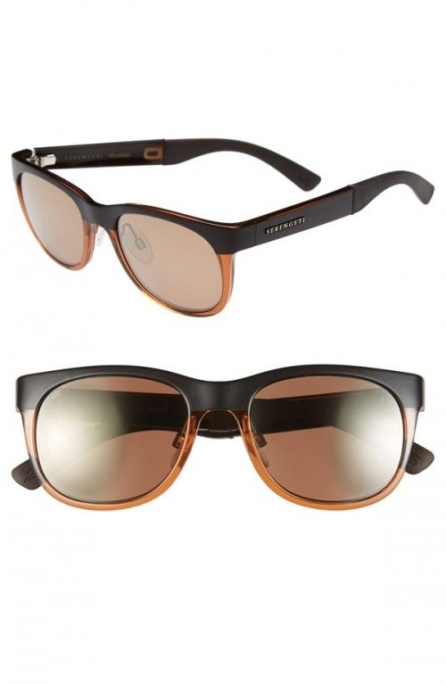 Serengeti Milano 50mm Polarized Sunglasses | Glasses, Eyewear and Accessories