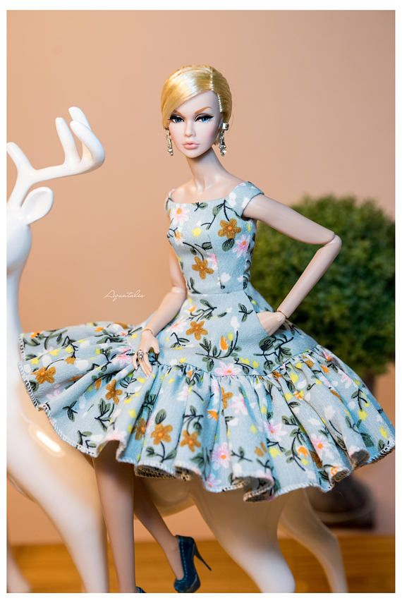 SUMMER COCKTAIL Mint Matcha Dress for Fashion Royal FR2 &