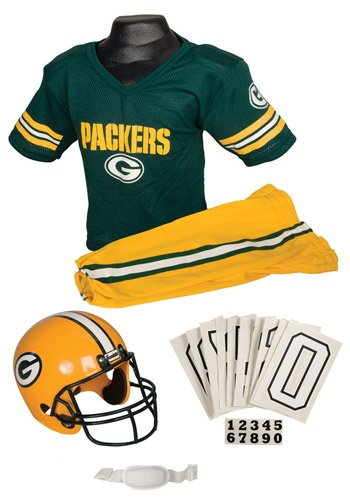 NFL Packers Uniform costume #Halloween #Football
