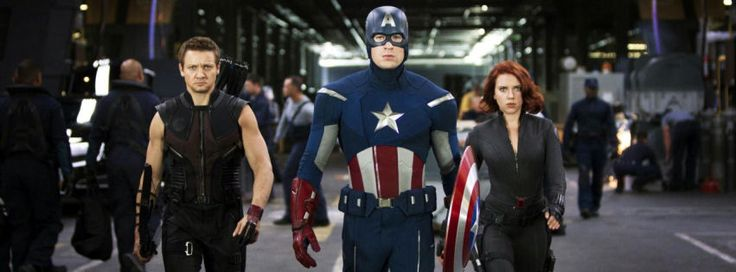 The avengers team facebook cover