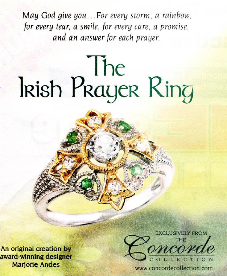 Irish Prayer Ring