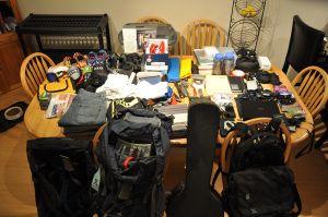 packing list (PC Guyana)