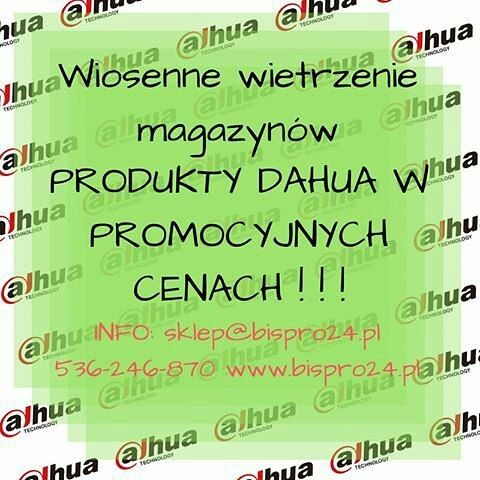 #wiosna #promocja #skleponline #cctv #monitoring ZAPRASZAMY!