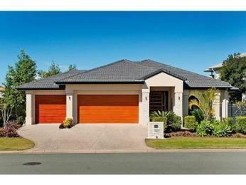 Photo of a concrete house exterior from real Australian home - House Facade…