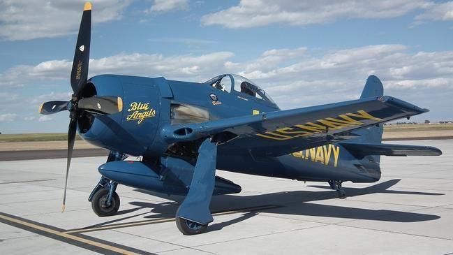 Grumman F8F Bearcat, last piston-engined fighter aircraft, World War II