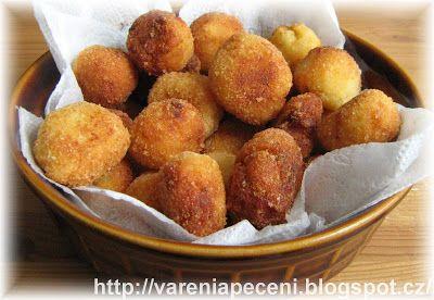 Vaření a pečení: Domácí bramborové krokety