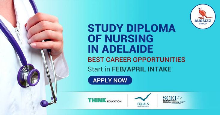 Thinking of Nursing? Adelaide is a place to be.  Due to huge Health and Aged Care industries, there are countless career opportunities in South Australia for Nursing graduates.  Study Diploma in Nursing in Adelaide with leading providers.  Start your course in April Intake with Think Education, Equals International, Southern Cross Education Institute.