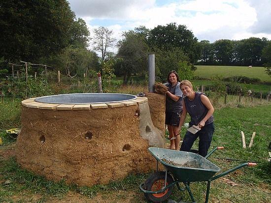 Ethan Ideas Build Wood Fired Hot Tub