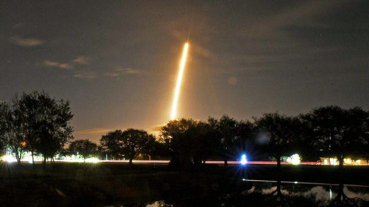 FOX NEWS: SpaceX launches rocket carrying classified payload for U.S. government