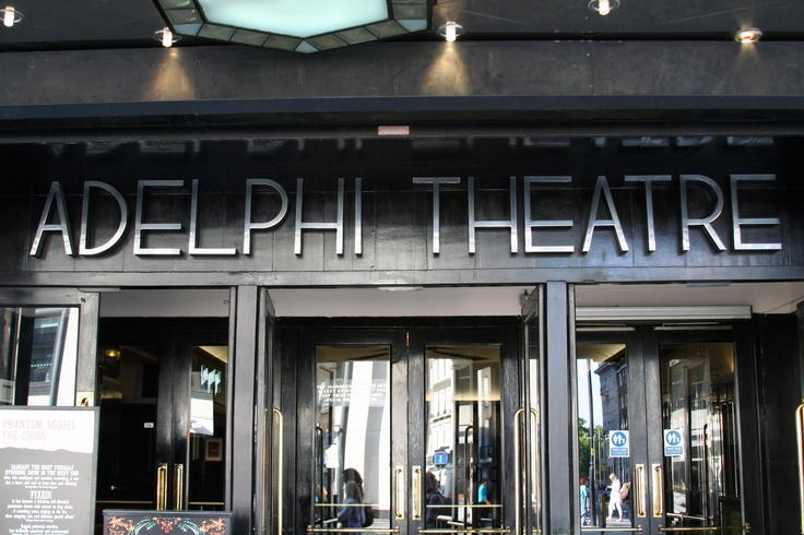 London, Covent Garden & The Stand, Adelphi Theatre